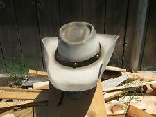 Cowboy Hat, Resistol,7 1/2, Silverbelly 3X felt ,New,SASS,Movie