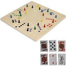 Keezen Brettspiel Tock für 2, 4 & 6 Spieler Dog mit Karten Tok XXL Spielbrett