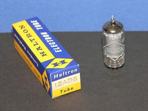 Haltron 12AD6 Pentagrid-Converter / Heptode Röhre Tube neu in OVP