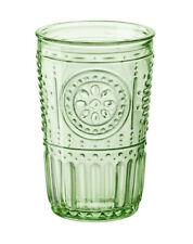 Glass Juice Party Pastel Green, Set of 4