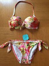 Debenhams Side Tie Floral Swimwear Bikini Sets for Women
