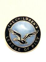 Old Vintage Childrens League of Pity /PIN - Badge - Enamel c/1950s
