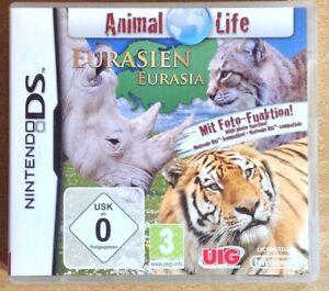 ANIMAL LIFE EURASIA NINTENDO DS/LITE/DSi GAME brand new ENGLISH /GERMAN LANGUAGE