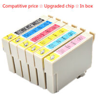 T0807 Ink Cartridges Compatible with Epson Stylus Photo P50 PX650 PX660 PX700W