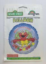 """Anagram Party Balloon Sesame Street 18"""" Round Foil Refillable Elmo Christmas"""