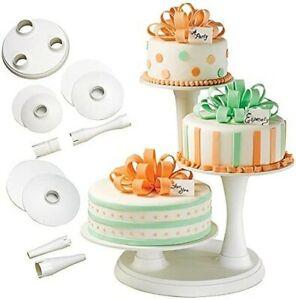 Wilton Pillar Style 3-Tier Cupcake, Dessert, and Cake Stand