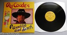 Ry Cooder - Paradise And Lunch UK 1974 Reprise LP