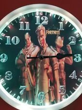 Fortnite Golden guy wall clock with led lights