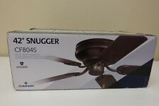 """Emerson Snugger 42"""" Oil Rubbed Bronze Traditional Low Profile Ceiling Fan (1B)"""