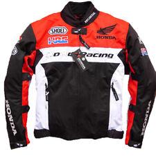 Racing Jacke Winter Autorennen Bekleidung Motorradkleidung für Honda Stoff DE