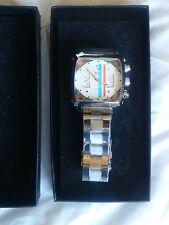 ⚠️Mens watch racing Le Mans Steve McQueen monaco gulf Porsche look, great gift