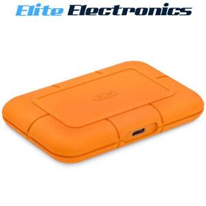 Lacie 2 TB 2TB SSD USB C Rugged Solid State Drive Rescue Seagate