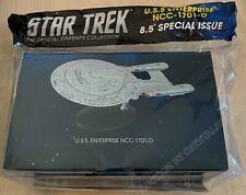 "Star Trek USS Enterprise NCC-1701-D Special Issue XL 8.5"" w/ Magazine Eaglemoss"