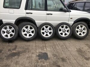 """RANGE ROVER P38 18"""" 5X VOGUE ALLOY WHEELS TYRES 255/55/18 94-02 DISCOVERY 2"""