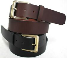 New Quality Genuine Full Grain Leather Mens Jeans Belt Australian Seller. 41004.