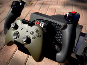 Xbox One Controller Mount for HoneyComb Alpha Yoke | Flight Simulator