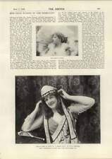 1898 Miss Grace Warner InTermagant Miss Kirby As Nepia