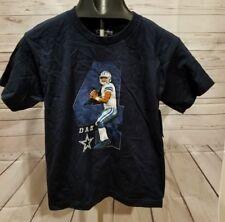 12aff0d7b893c Dallas Cowboys DAK Prescott Youth Large Shirt 16-18 Boys Kids Football NFL