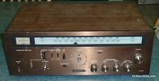 Vintage PANASONIC RA-6100 AM/FM Integrated Stereo Receiver VTG- Wood Cabinet