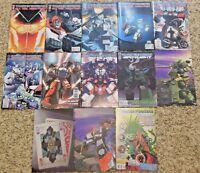 TRANSFORMERS Comics Lot - IDW 13 comics All Hail Megatron Spotlights - Incentive