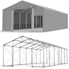 LAGERZELT 8x12 m Ganzjährig 3m Höhe 600g Industriezelt WEIDEZELT Lagerhalle