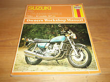 Suzuki 750 3 Cyclinder Models 739cc All Models 1971 On Haynes Workshop Manual