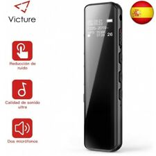 Victure Grabadora de Voz Digital Portátil, 8GB 1536kbps Ultra-HD Diseño de E