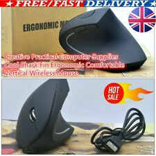 2.4GHz Rechargeable Wireless Ergonomic Vertical Mouse Optical For PC Laptop Mice