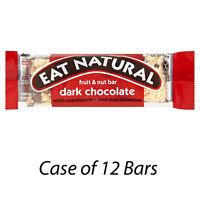 EAT NATURAL FRUIT & NUT DARK CHOCOLATE WITH CRANBERRIES & NUTS BARS x 12 226305
