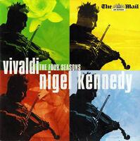 Vivaldi CD Nigel Kennedy, English Chamber Orchestra – The Four Seasons - Promo