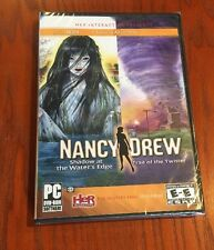 Nancy Drew Shadow at Water's Edge + Trail of the Twister Mystery PC Games NEW!