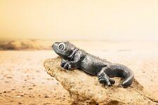 2018 Palau 1 oz Silver Antique - Silver Gecko