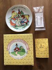 "Avon JoanAnglund ""School Is A New Beginning� Porcelain Plate Nib"