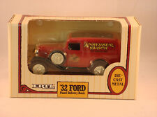ERTL Diecast Metal AnheuserBusch 1932 Ford Panel Delivery Truck NIB (1992) #9498