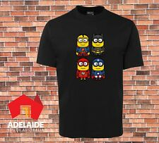 JB's Funny Cool T-shirt  Minion Heros In Adult & Childrens Kids Sizes