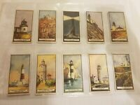 Lighthouses (1926) Wills Cigarette Cards - Buy 2 & Save  -New Zealand Issue