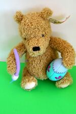 Gund Disney Easter Pooh Bear w/ Egg & Paintbrush New Old Stock with Tag