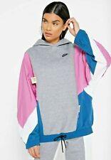 Womens Nike Icon Clash Pullover Hoodie Windbreaker Size Large Tall Cj2029 091