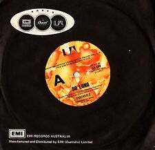 "FISCHER-Z - SO LONG  7"" 45RPM VINYL SINGLE RECORD Australia NM"