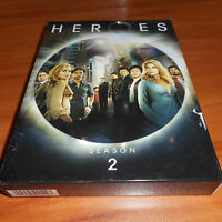 Heroes - Season 2 (DVD, 2008, 4-Disc Set) Two Second 2nd