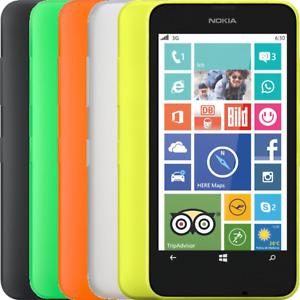 """Nokia Lumia 630 - All Colours - UNLOCKED-Grade C """"Good"""""""