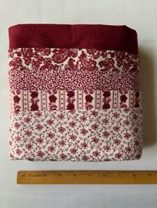 5 Yds Quilting Fabric- Timeless Treasures - Beautiful Reds