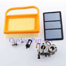 Carburetor Air Filter for STIHL TS410 TS 420 Cut off Chainsaw Carb W Fuel Filter