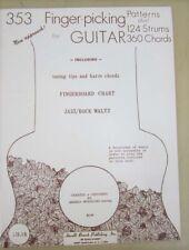 353 Finger-picking Patterns for Guitar Plus! 124 Strums 360 Chords