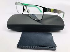 a840db94a0a New Authentic POLO PH 1157 9005 Dark Green   Camouflage Eyeglasses 53mm  w Case