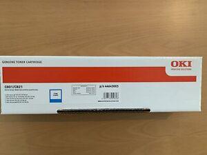 Neu OKI 44643003 cyan Toner A