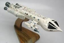 Mark IX Hawk Fighter Spaceship Wood Model Replica Large Free Shipping