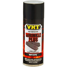 VHT BLACK WRINKLE PLUS COATING FINISH CUSTOM LOOK HEAT PROOF