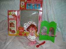 vintage strawberry shortcake Rare doll ballerina in Box toy 1980's dancin'