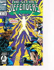 THE SECRET DEFENDERS, DUAL WITH DREADLOX! # 2 APRIL, 1993